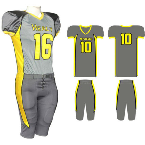 American Football Uniform